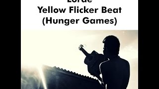 Lorde - Yellow Flicker Beat (Hunger Games) (COVER ESPAÑOL) Sam Diego