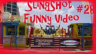 Funny videos #28 (Daytona SlingShot)