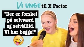 Maria og Bea: Det vil vi sige til haters | X Factor 2019 Video