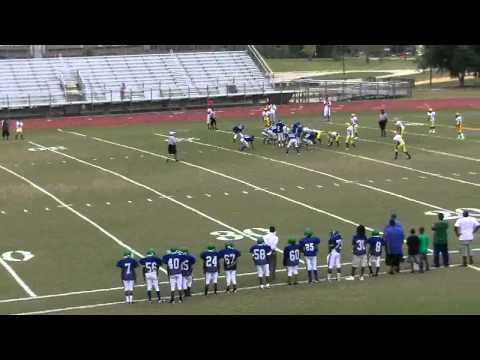 Jaylen Odom middle school running back and d-end(14)