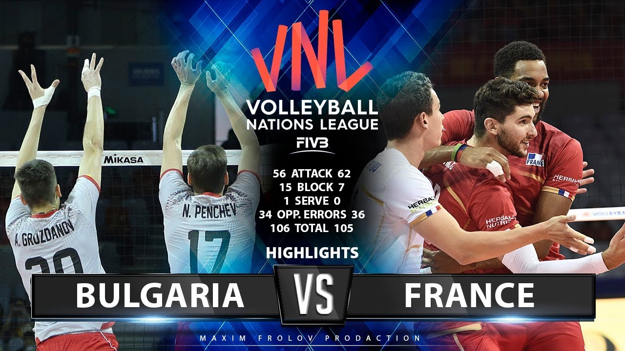Bulgaria vs France | Highlights Men's VNL 2019