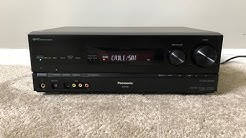 Panasonic SA-BX500 7.1 HDMI Home Theater Surround Receiver