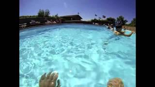 Skive Fjord Camping - Vandleg i swimmingpoolen