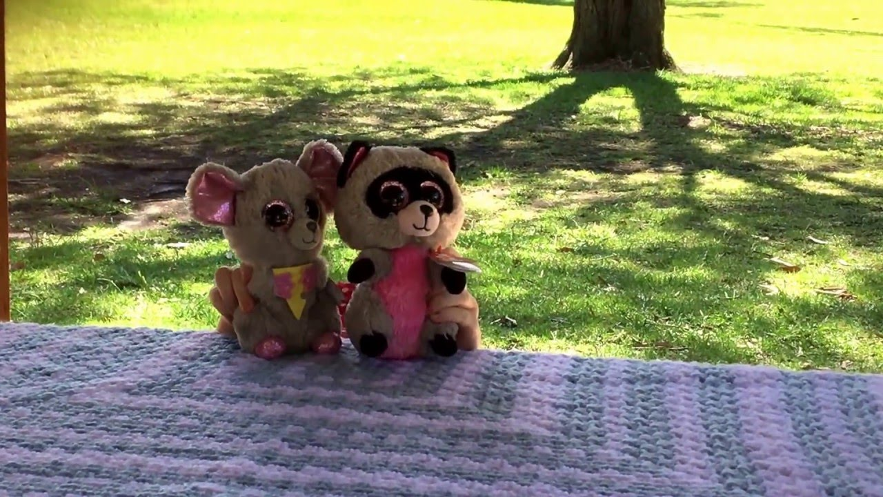 A short Beanie Boo play - Squeaker the Mouse and Rocco the Racoon ... 54b097283c70