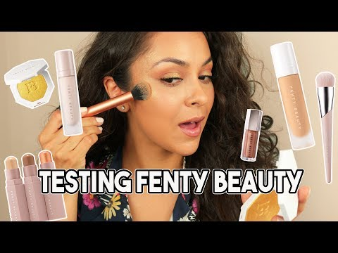 FENTY BEAUTY by RIHANNA FIRST IMPRESSIONS! - TrinaDuhra