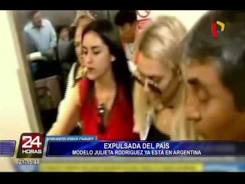 Julieta Rodríguez ya está en Argentina y envía este mensaje tras su salida de Perú