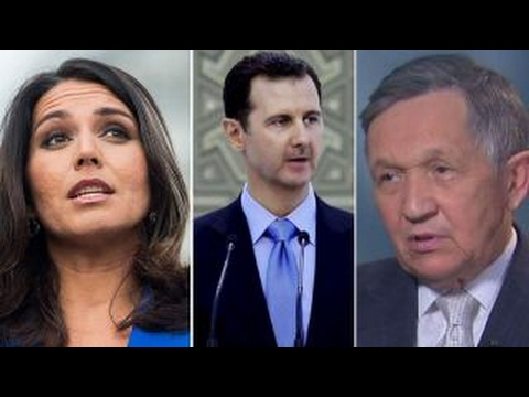 Rep. Gabbard, Kucinich meet with Assad in Syria