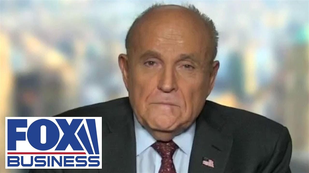Giuliani calls John Bolton 'a total backstabber' after reading his memoir