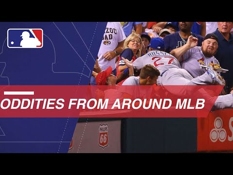 See all the oddities and fun moments from around MLB in 2017