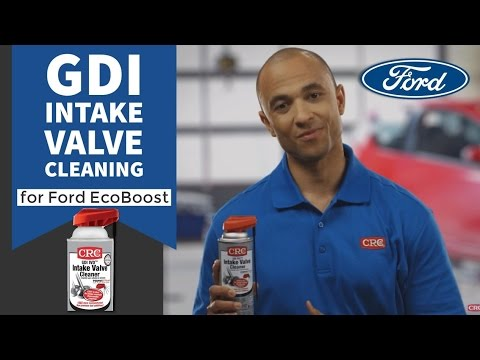 Intake Valve Cleaning Ford CRC GDI IVD® Intake Valve & Turbo Cleaner