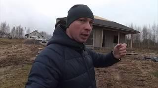 Монтаж мягкой черепицы зимой