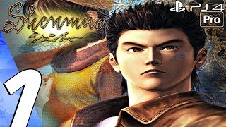 Shenmue 1 Remastered - Gameplay Walkthrough Part 1 - Prologue (Full Game) PS4 PRO