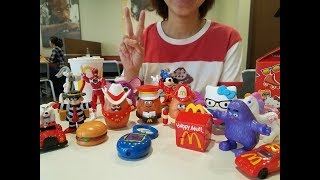 McDonald's 40th Anniversary Surprise Happy Meal Toys Unboxing