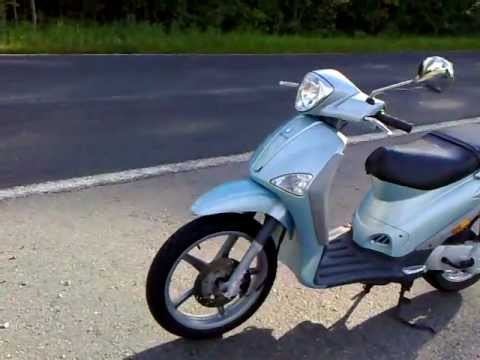 piaggio liberty 2t 50 acceleration - youtube