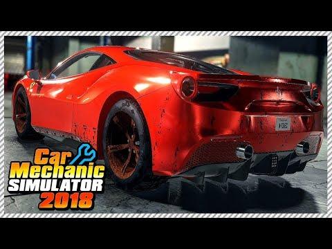 Car Mechanic Simulator 2018 - Abandoned Ferrari 488 GTB Engine Rebuild | Ep. 5