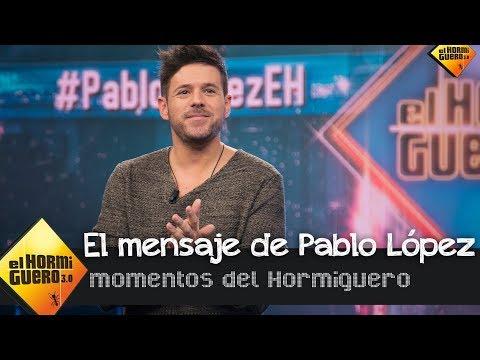 El emocionante mensaje de Pablo López en su nuevo éxito † El Patio †