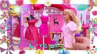 Barbie's Fashion Show   Barbie Makeup   Kids Toys Story   baby doll kids toys