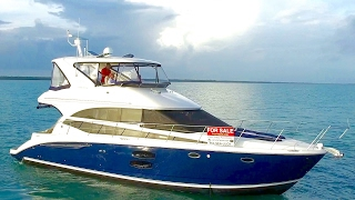 YACHT FOR SALE: 2012 Meridian 441 Sedan Bridge Motor Yacht (BLUE HULL) - in MIAMI, FL