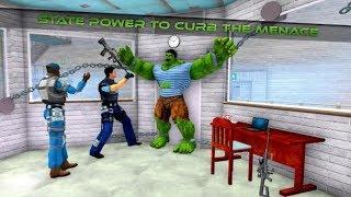 ► Grand Super Monster Hero Super Prison Action - INCREDIBLE HULK JAIL ESCAPE