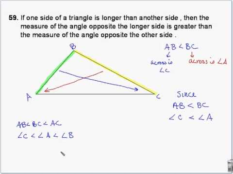 Geometry - Triangle Midsegment and triangle inequality theorems ...