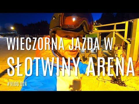 Słotwiny Arena jazda wieczorna