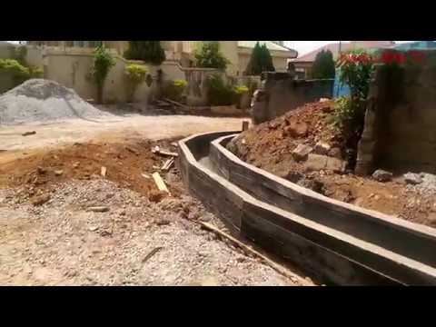 Atasomanso New Site Kumasi -Ghana. (Road Construction) pt. 2