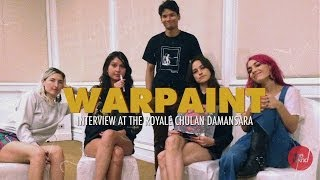 Warpaint | Interview (Kuala Lumpur, 2014, at Bentley Auditorium)