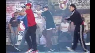 Drifterz vs No Half Stepping (R16 International 2007)