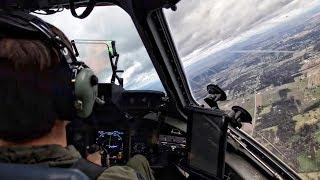 C-17 Globemaster III Training Flight • Cockpit View