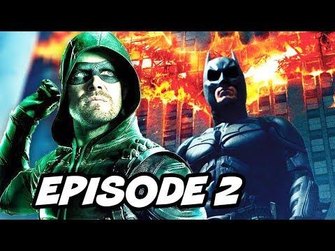 Arrow Season 6 Episode 2 - Batman Scene TOP 10 WTF and Easter Eggs