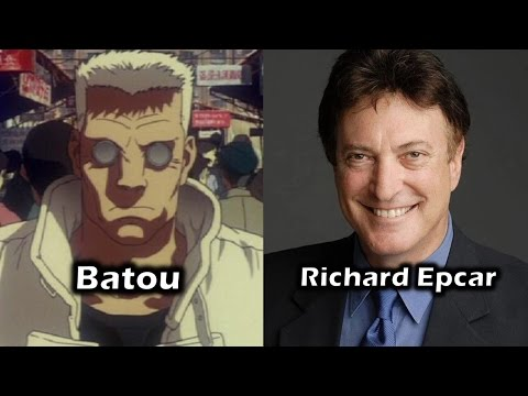 Characters and Voice Actors  Ghost In The Shell 1995 English