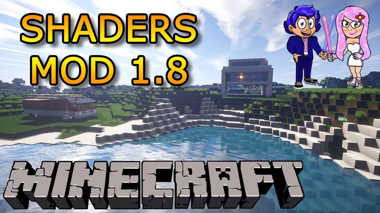 Mod shaders 1 8 descargar c mo instalar tutorial de for Blancana y mirote minecraft