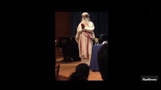 sadhguru jaggi vasudev at the United Nations