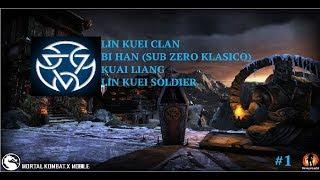 Mortal Kombat X Mobile #1 -  Lin Kuei Clan