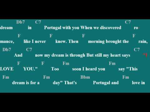 April in Portugal Karaoke/Chords