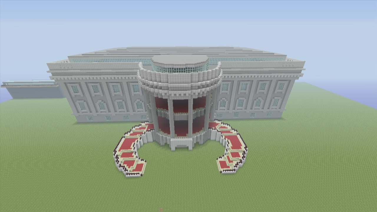 minecraft xbox 360 edition: how to build the white house part 6