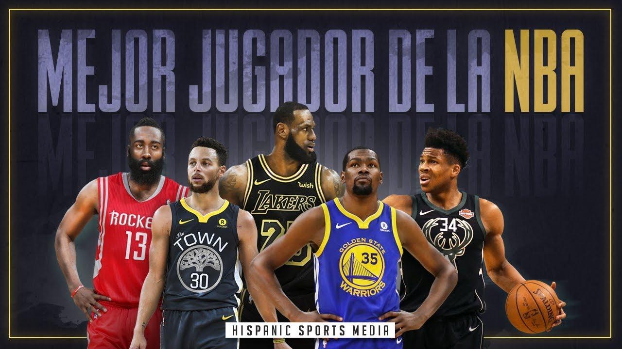 LOS 10 MEJORES JUGADORES DE LA NBA TEMPORADA - 2018-2019 - YouTube