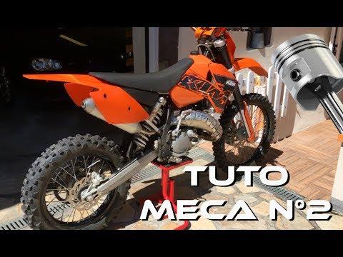 TUTO - CHANGER SON PISTON SUR SA MOTO 2 TEMPS