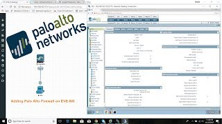 How to add or install palo alto firewall 7.1.0 on eve-ng  2018 | initial palo alto configuration