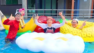 Boram Slide Pool | Piscine | Piscine et toboggan pour bébé
