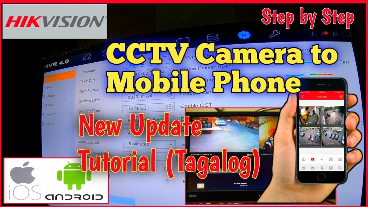 How to Connect CCTV Camera to Mobile Phones | Step by Step ( New Update )