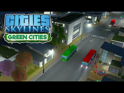 Biofuel Buses! – Cities Skylines Green Cities Gameplay – Let
