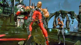 Wade Wilson Defeats Vertigo, Archlight & Blockbuster Clones: Boss Fight (Deadpool Game)