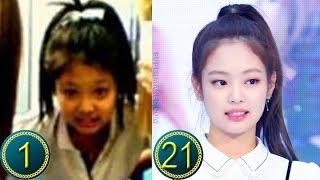 [Black Pink] Jennie Kim Predebut | Transformation from 1 to 21 Years Old