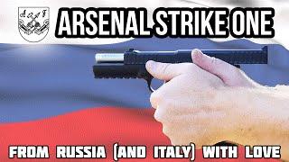 Arsenal Strike One Pistol (Range Review)
