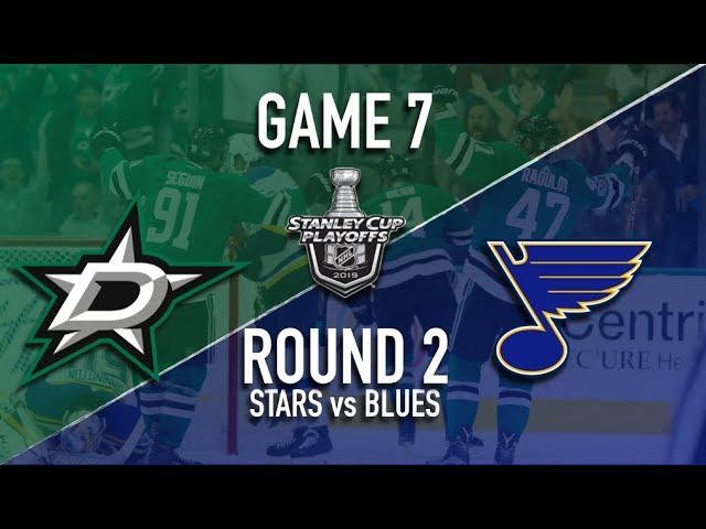 Dallas Stars @ St Louis Blues | Game 7 | Round 2 | Stanley Cup Playoffs 2019