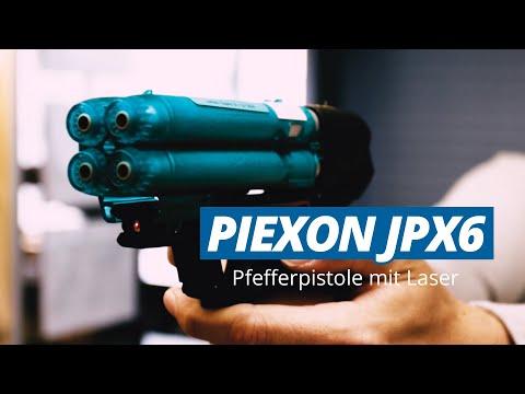 Piexon JPX 6 - Pfefferpistole mit Laser