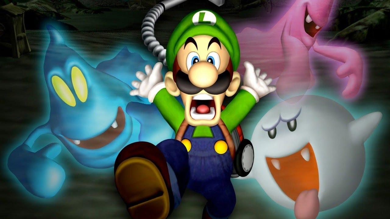 Luigi S Mansion Full Game Walkthrough All Gold Portraits No Commentary