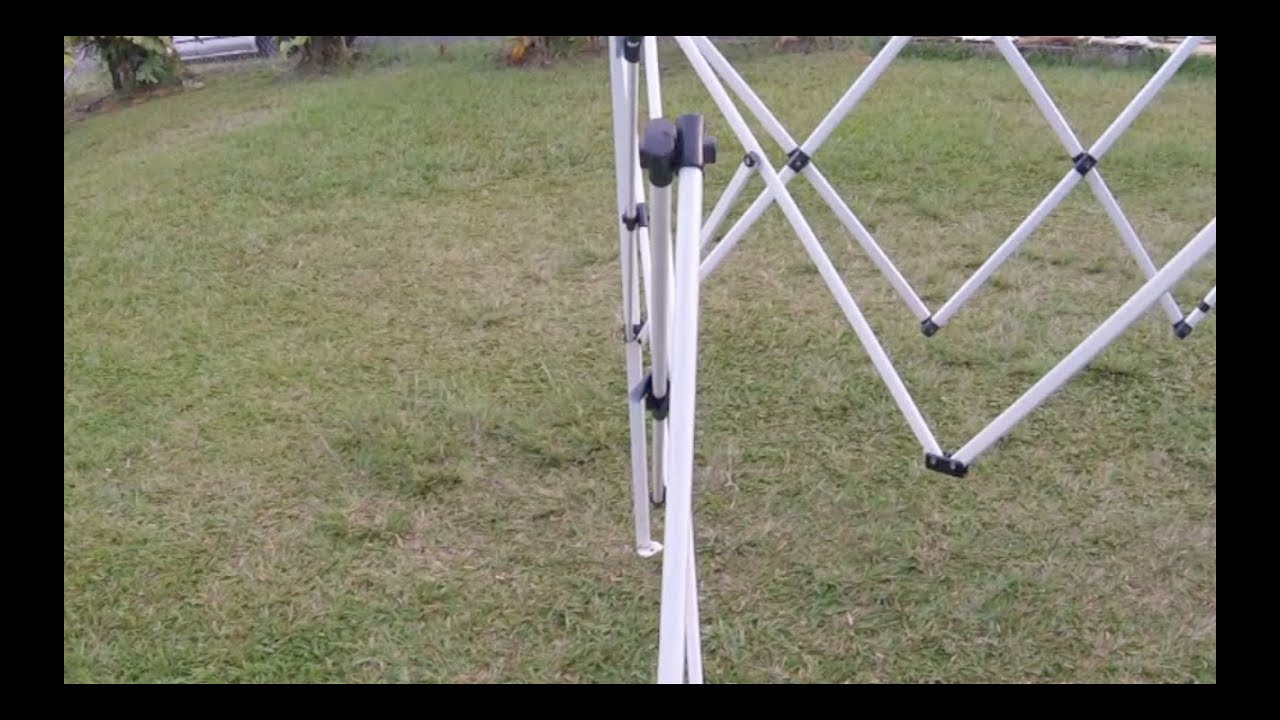 How to Repair A Pop Up Canopy Tent Frame