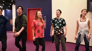 劇団四季:『ライオンキング』「ワン・バイ・ワン」歌唱稽古